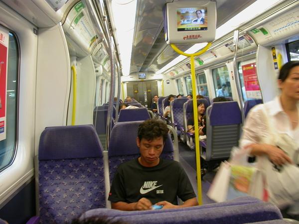 九廣東鐵車廂