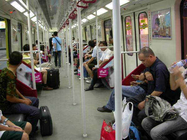跟深圳地鐵幾乎一樣~