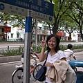 後來我們還是到著名的「江南大道北」逛婚紗一條街