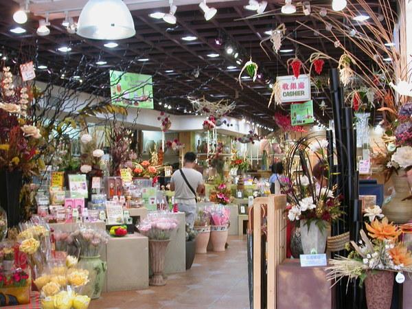 各式各樣的花藝產品都有