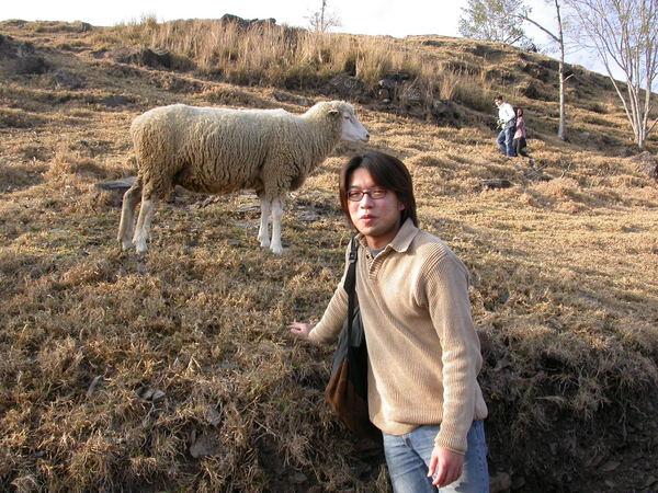Alex與羊咩咩