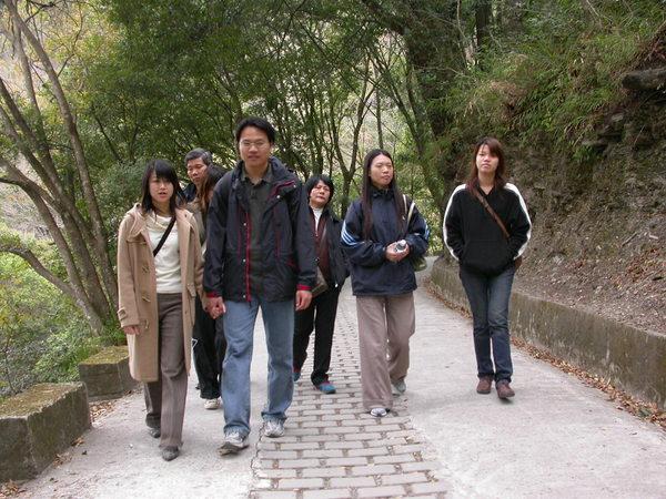 奧萬大hiking