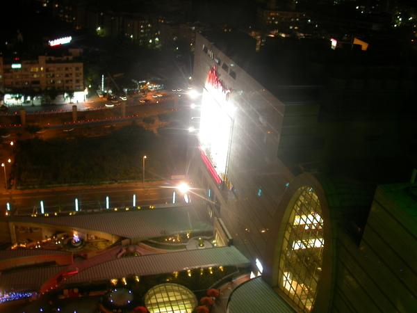 俯看美麗華商場