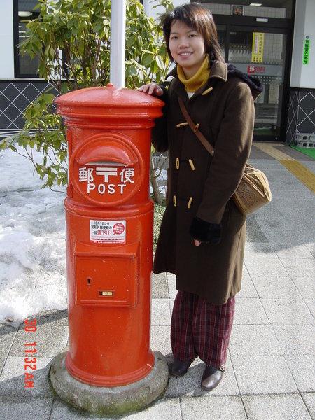 日本老郵筒