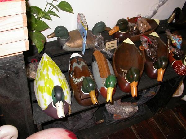 木雕器具們
