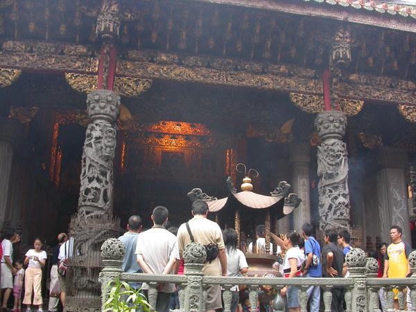 三峽祖師廟至今仍香火鼎盛