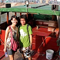 這次我們搭船去張保仔洞