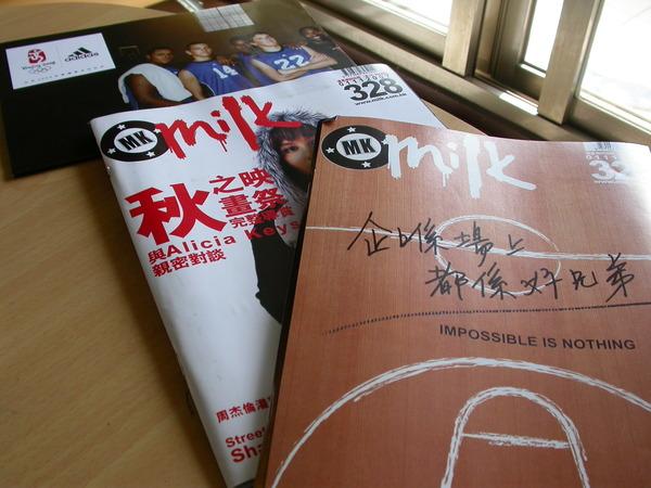 我在香港的精神食糧--Milk雜誌