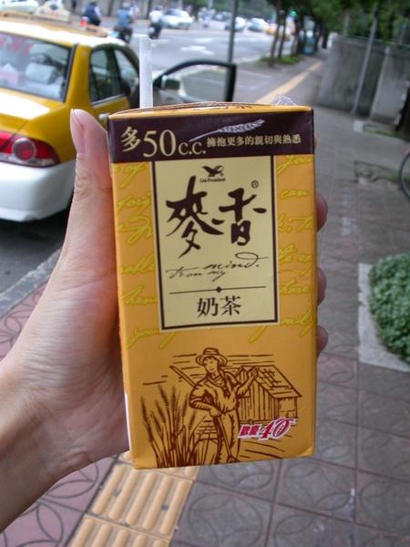 從小喝到大--麥香奶茶