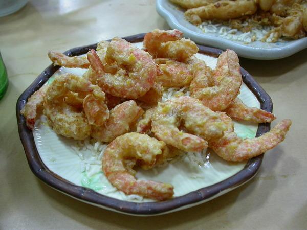 招牌菜:黃金蝦,鹹蛋炸蝦,好味!