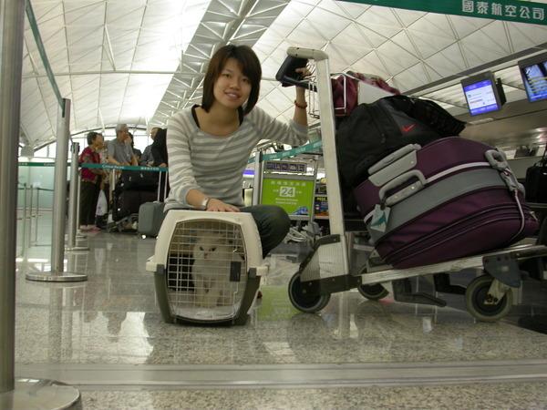 行李與小寶