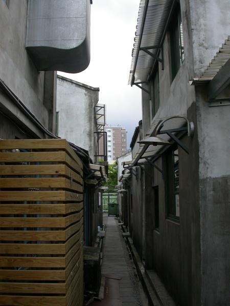 眷村的巷弄樣貌