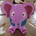 變成花俏大象,命名為「好象」~