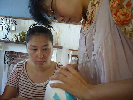 上進的亞外老師也常進修各種手作領域