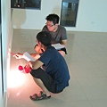 20110810 燈光放樣