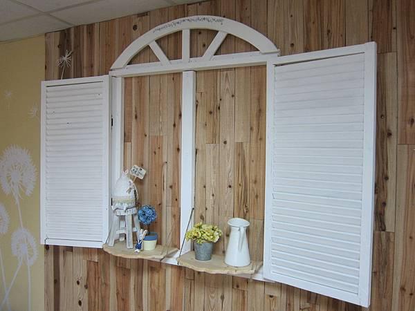 雜貨風窗框
