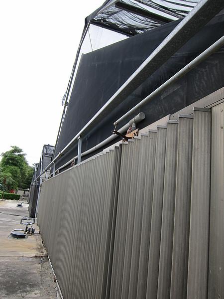 降溫用的水牆