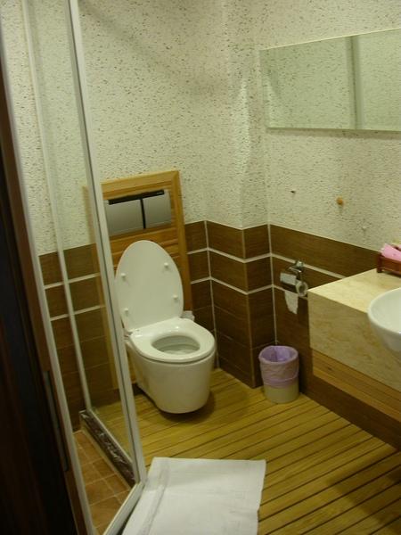 浴室也很舒服