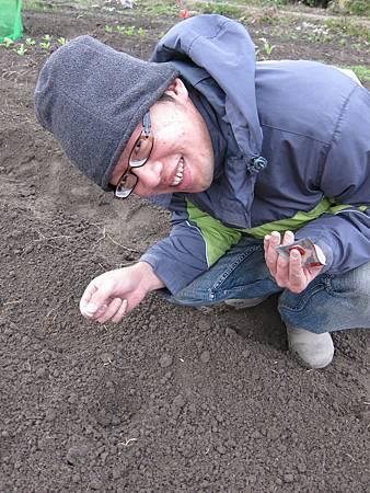 20110116_作畦+播種
