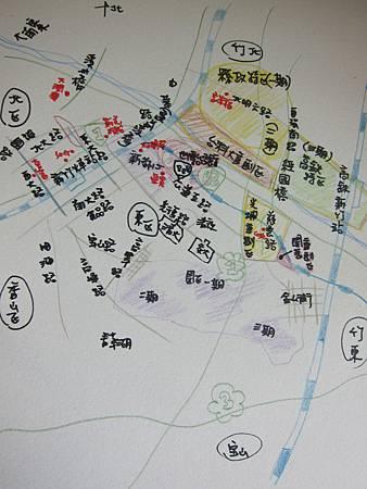 我眼中的新竹地圖