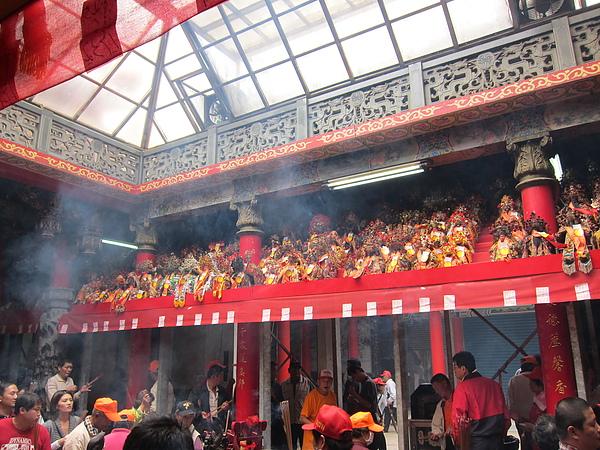 每五年舉行一次建醮大祭典