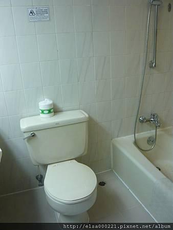旺角維景酒店 (浴室)