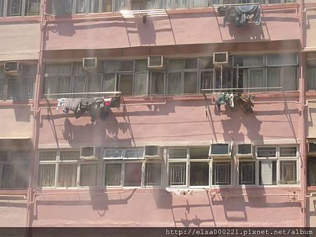 旺角維景酒店 (窗外街景)