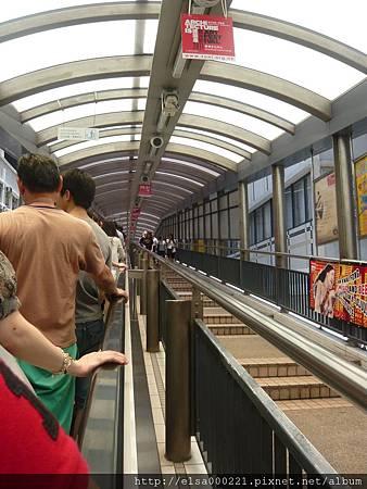 中環站 (半山手扶梯)
