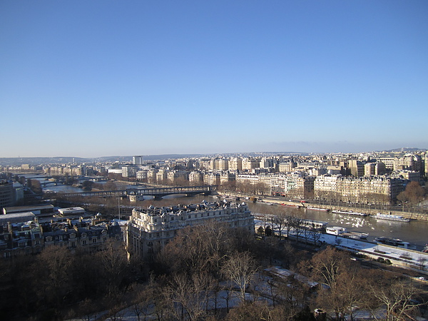 俯瞰塞納河 from Tour Eiffel 1st floor
