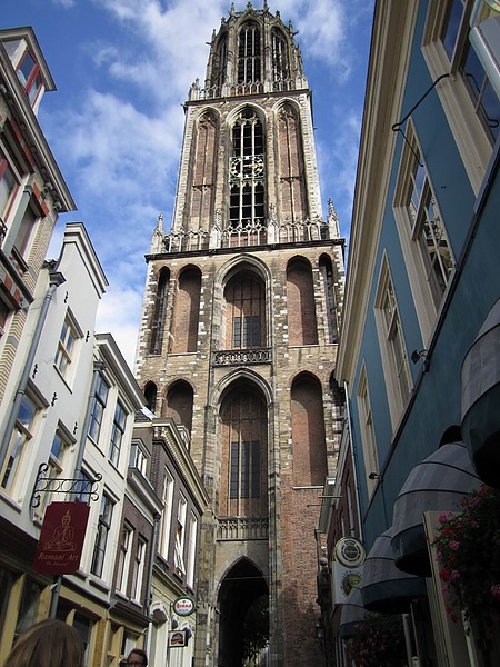 The landscape of central Utrecht - Dom Tower