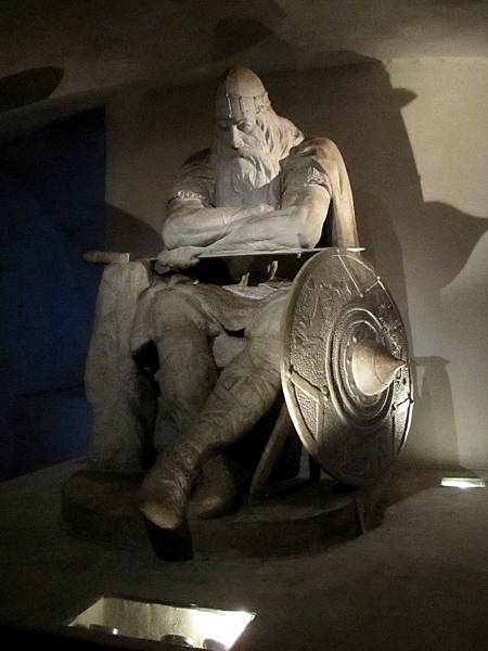 Kronborg 監獄門口的巨大雕像