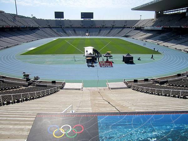 Montjuic 上的奧運體育場