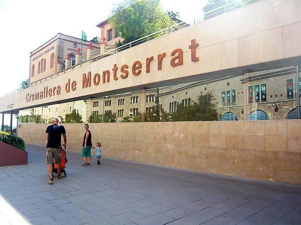 Montserrat 聖山 ~ 聖家堂的靈感來自於此