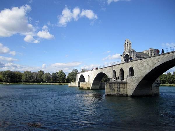 聖貝內澤橋 Pont St Benezet