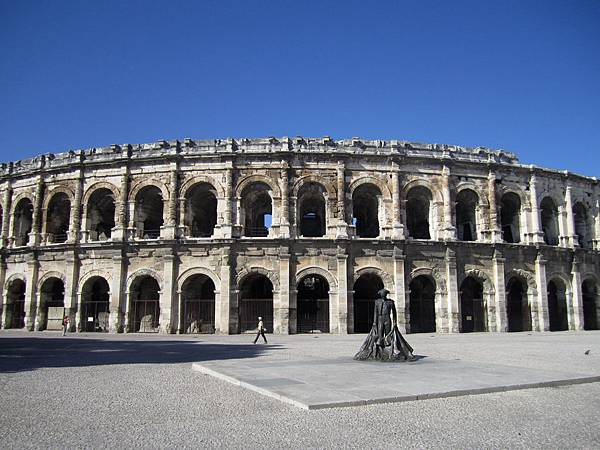 Nimes 的羅馬競技場