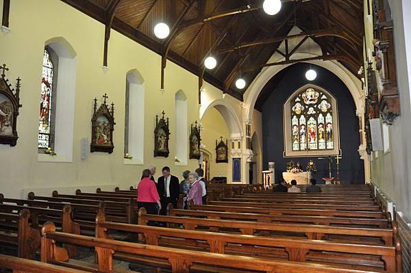 婚禮的美麗教堂