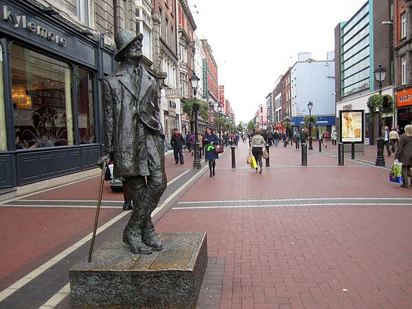 James Joyce 雕像