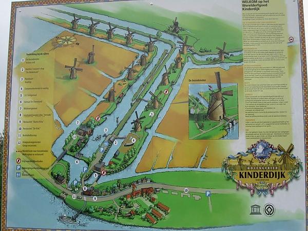 小孩堤防 Kinderdijk - 世界遺產,荷蘭內唯一可以觀賞19座風車並列矗立的景象
