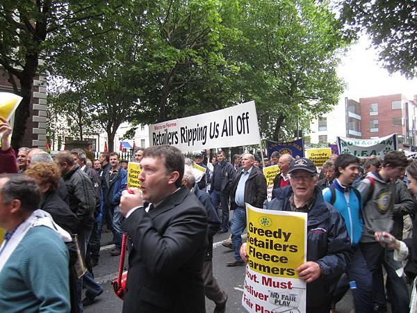 非常平和理性的示威活動