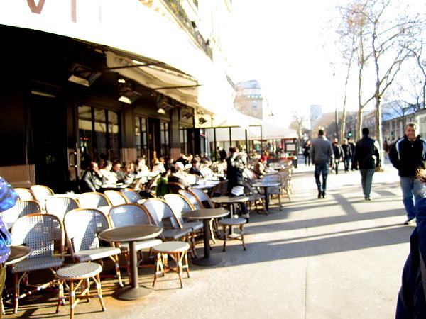 經典的巴黎街頭