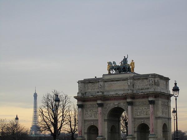 Arc de Triomphe du Carrousel 騎兵凱旋門