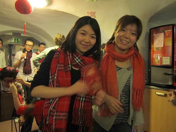 with Larissa