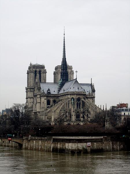 Cathedrale Notre Dame de Paris 巴黎聖母院