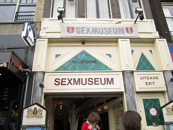 Sex Museum 但我沒時間進去參觀, 下次要去一下