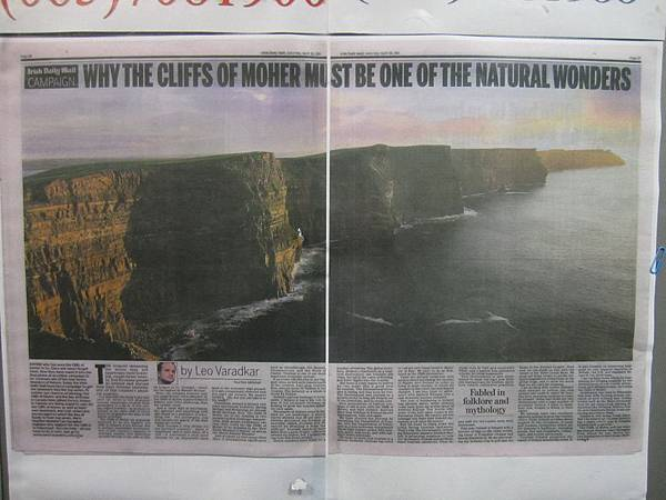 Why The Cliffs of Moher Must Be One of The Natural Wonders