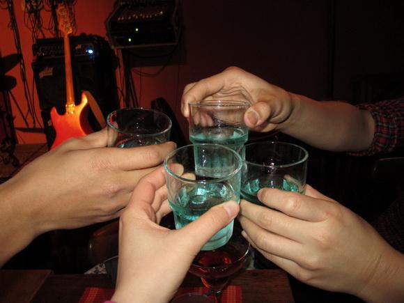 Absinth... 乾杯!