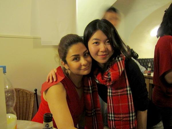 with Sanaz