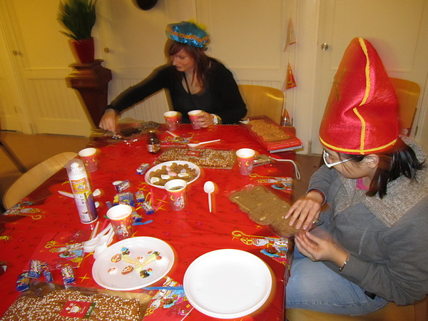 traditional Sinterklass activity