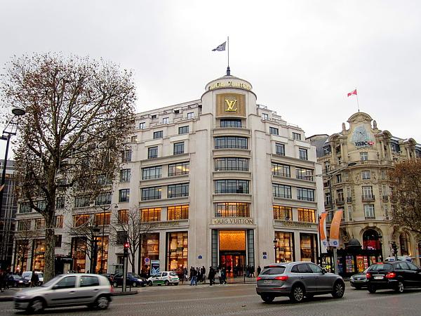 LV 香榭麗舍大道總店 ( Louis Vuitton Paris Champs-Élysées )