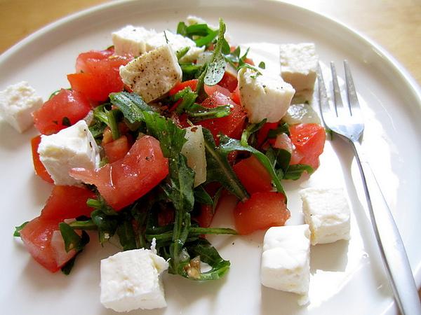 自製莎莎醬cheese沙拉